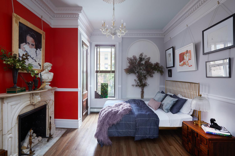 Jarret+Yoshida_Brooklyn Brownstone Bedroom+0