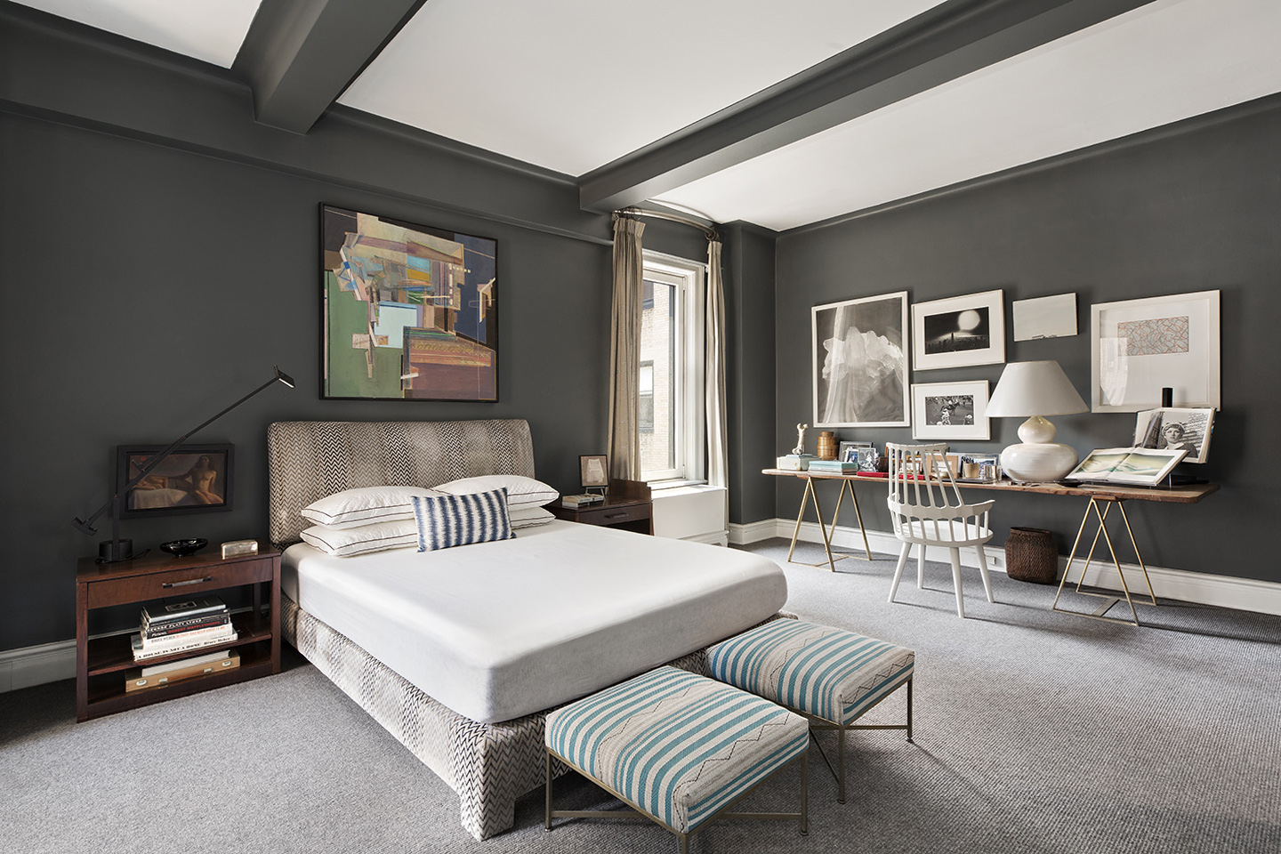 NYC Park Ave-Master Bedroom-W