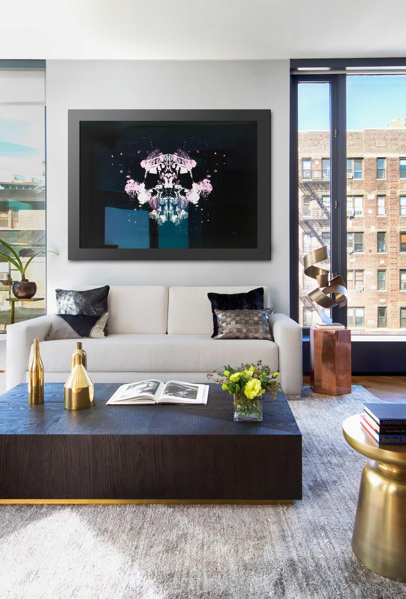 NYC Soho Loft Living Room
