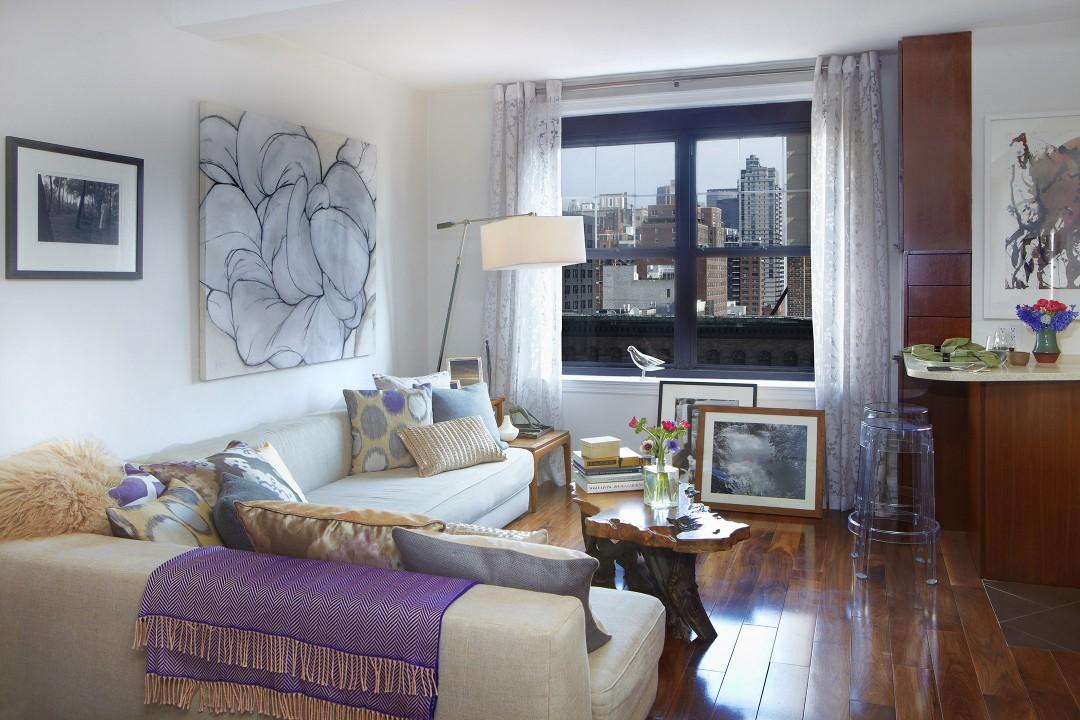 NYC Studio Living Room 2