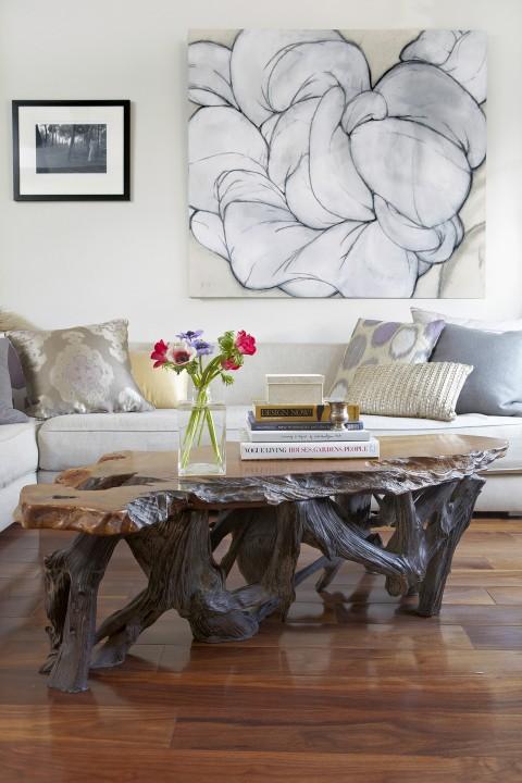 NYC Studio Living Room